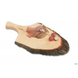 ladychef Vassoi & Taglieri Tagliere con manico in legno di ontano