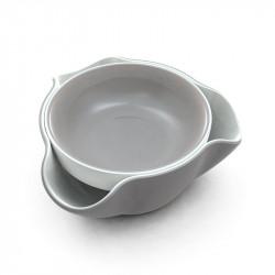 ladychef Oggettistica Ciotola Double Dish bianca