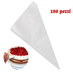 ladychef Accessori Rotolo da 100 sac a poche monouso in plastica