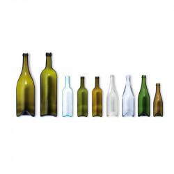 ladychef Accessori Bottiglia di vetro per presentazione
