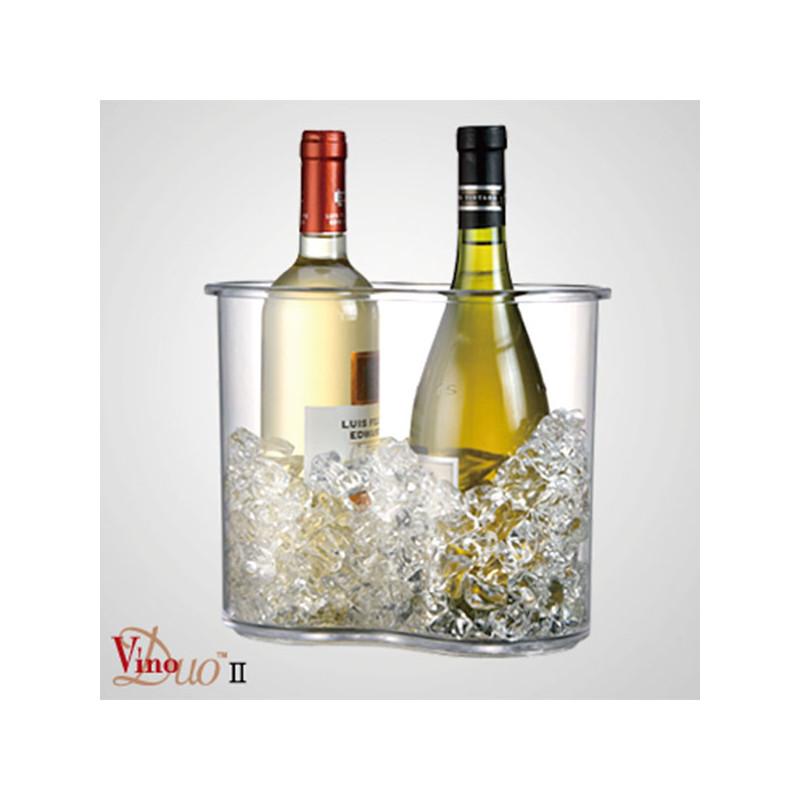 ladychef Drink & Wine Raffreddavino DUO II trasparente
