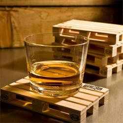 ladychef Drink & Wine Set 12 sottobicchieri mini pallet