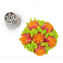 ladychef Bocchette Bocchetta Flower tube 04