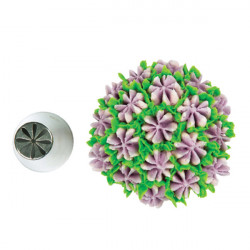 ladychef Accessori Bocchetta Mini Flower tube 07