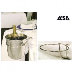 ladychef Drink & Wine Gancio portasecchiello pieghevole a filo ILSA