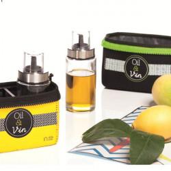 ladychef Accessori Set Olio & Aceto con contenitore