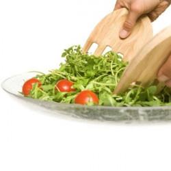 "ladychef Accessori Posate per insalata \\""Hands\\"""