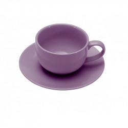 ladychef Tazze & Bicchieri Set 2 tazzine caffè con piattino