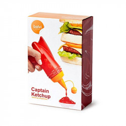 ladychef Accessori Dispenser ketchup Captain Ketchup