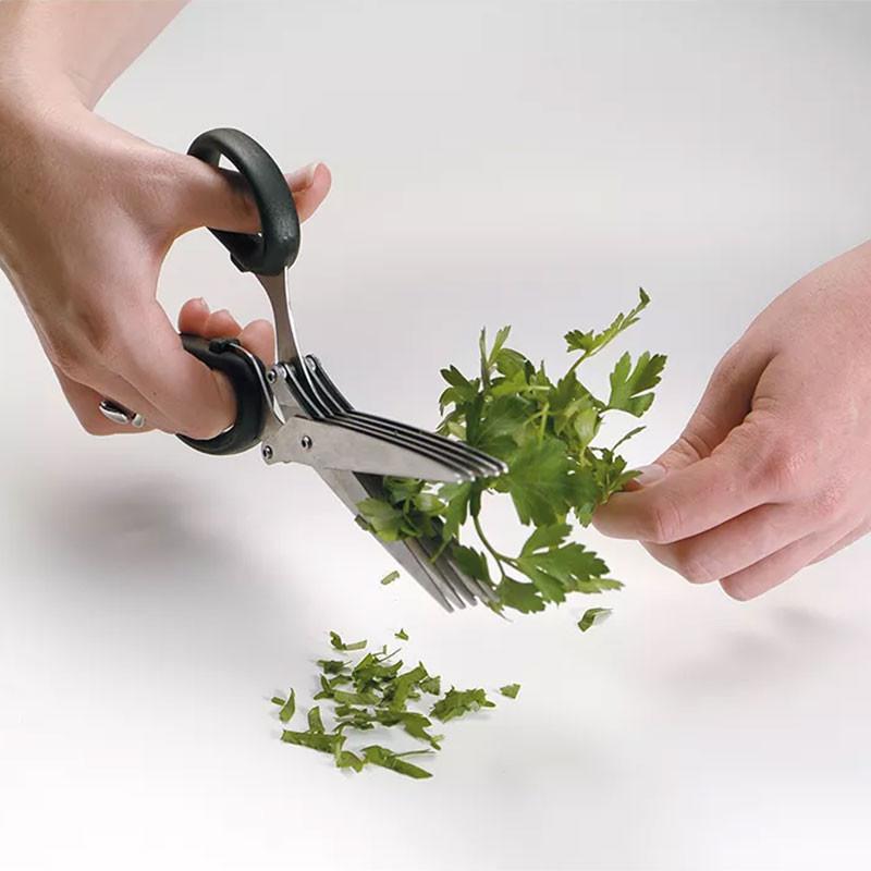 ladychef Coltelleria Forbici 5 lame per erbe aromatiche EXTRAGOURMET