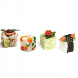 ladychef Etnica & Fusion Stampo per Sushi Rice Cube