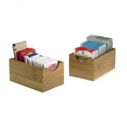 ladychef Accessori Set 6 box in bamboo