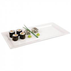 ladychef Melamina Vassoio bianco per sushi in melamina