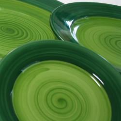ladychef Porcellana Piatti serie Doppel Green