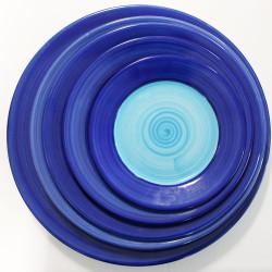 ladychef Porcellana Piatti serie Doppel Blue