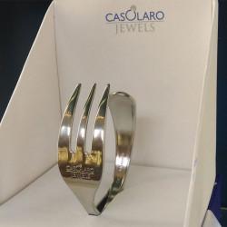 ladychef Oggettistica Bracciale Casolaro Jewels ACCIAIO