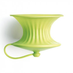 ladychef Accessori Spremi limone in silicone verde. Set 2 pezzi.