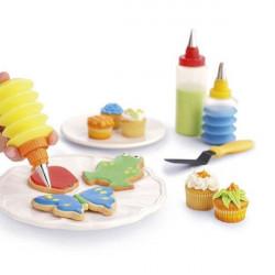 ladychef Accessori Set Professionale per Decorare Torte e Biscotti