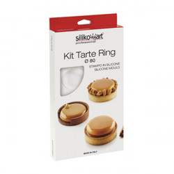 ladychef Torte KIT TARTE RING ø 80