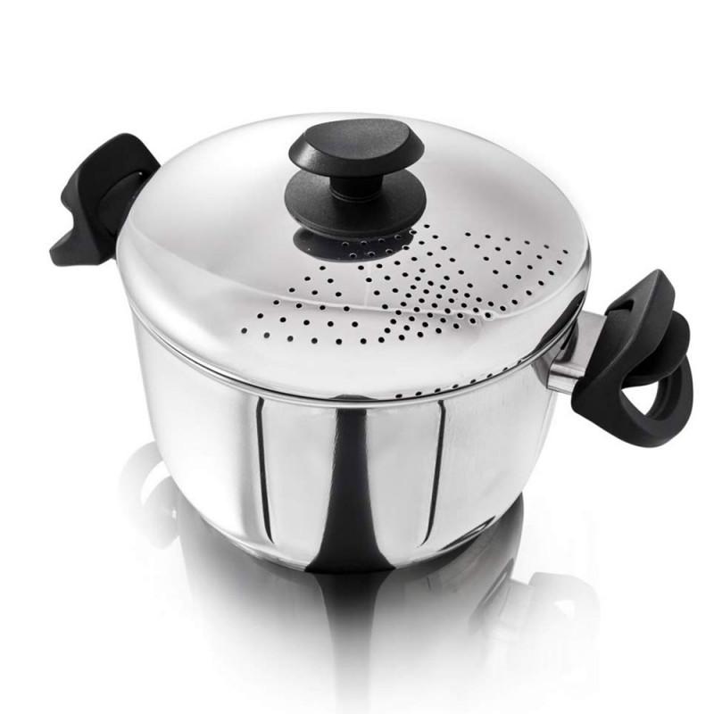 ladychef Cottura Pasta Pot Daily con coperchio