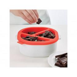ladychef Accessori Set fonduta cioccolato per microonde