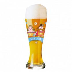 """ladychef Drink & Wine Bicchiere birra """"Weizen"""", Selli Coradazzi"""