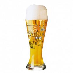 """ladychef Drink & Wine Bicchiere birra """"Weizen"""", Potts"""