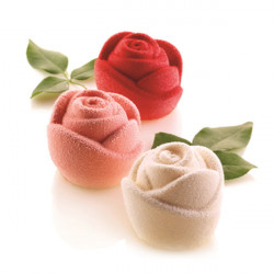 ladychef Monoporzioni Stampo rose in 3D