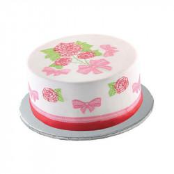 Round Foil Cake Paper Plates