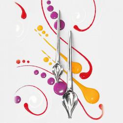 Set 2 cucchiai decoratori
