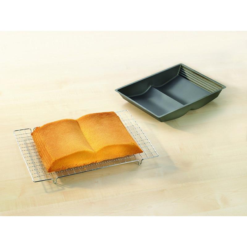ladychef Teglie e Forme Stampo libro 3D