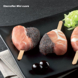 ladychef Monoporzioni innovative Steccoflex Mini per gelati o preparazioni da forno