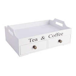 Tea & coffee tray with 2...