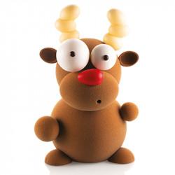 ladychef Stampi in policarbonato Kit stampo cioccolato Rudolf