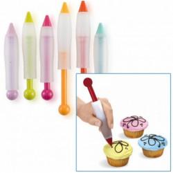 ladychef Accessori Penna decora dolci colori assortiti