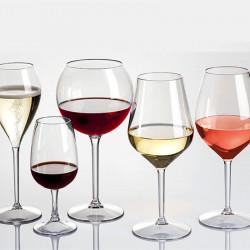 ladychef Tazze & Bicchieri Set 6 Calici infrangibili Drink Safe