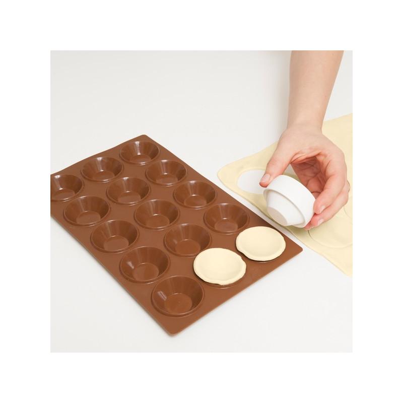ladychef Torte e Monoporzioni Stampo per tartellette