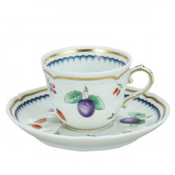 ladychef Richard Ginori Servizio Caffè 15 pezzi Antico Doccia decoro 01531 Richard Ginori
