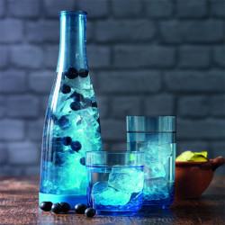 Elite blue bicchieri e caraffa
