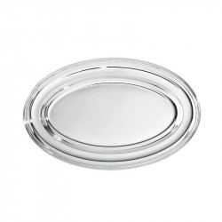ladychef Sambonet Piatto ovale argentato SAMBONET