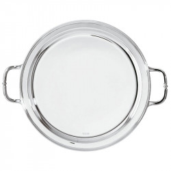 Silverplated Round plate...