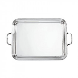 Rectangular tray with...