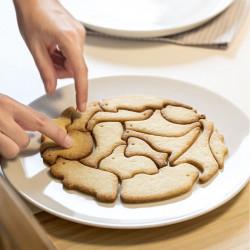 ladychef Teglie e Forme Stampo biscotti animali ad incastro