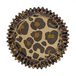 ladychef Wilton Set 36 pezzi pirottini leopardati