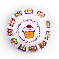 ladychef Wilton Set 100 pezzi pirottini cupcake