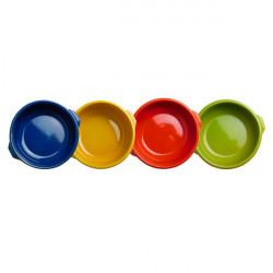 Set 6 tegamini colorati