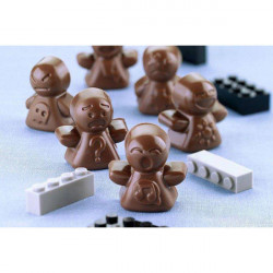 ladychef Stampi silicone Stampo Mood 12 figure