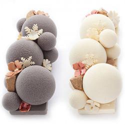 ladychef Monoporzioni innovative Stampo 12 sfere 3D