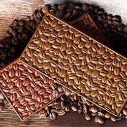 ladychef Stampi silicone Stampo Coffee Chocobar