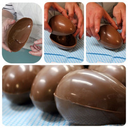 ladychef Stampi in policarbonato Stampo in policarbonato per uova di cioccolato